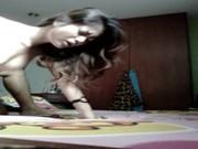 เสียวไทยชัดๆ นิสิตสาวเงี่ยนเย็ดกับผัวที่หอ โดนผัวจับเย็ดไปหลายท่า ครางเสียวมาก ห้ามพลาด!