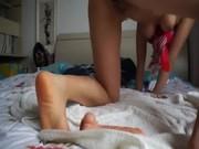 เด็กนักเรียนสตรีวิทยา ตั้งกล้องโชว์ผัว ช่วยตัวเองใช้ Sextoy ของเล่นเสียวแหย่แคมชมพูๆ หีอูมมากๆ ครางอย่างเสียว