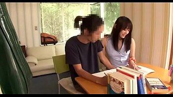 เอาครูสาวสวยมาสอนที่บ้านบนห้องนอน มีหรอจะไม่โดนเย็ดโดนเต็มๆหีเลย นักเรียนครูเย็ดกัน